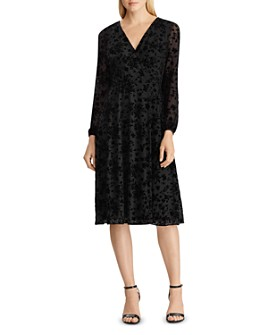 Ralph Lauren - Floral Faux-Wrap Dress