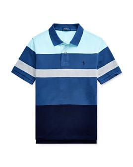 Ralph Lauren - Boys' Striped Color-Block Polo Shirt - Big Kid