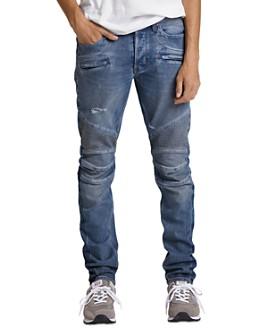 Hudson - Blind Biker Slim Fit Jeans in Low Post