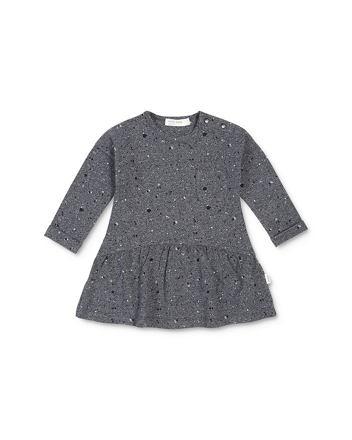 Miles Baby - Girls' Speckle Print Dress - Baby