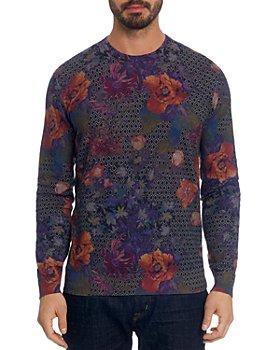 Robert Graham - Hawkeye Geo-Floral Pullover Sweater