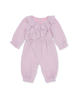Habitual Kids - Girls' Ellie Ruffled Sparkle Jumpsuit - Baby