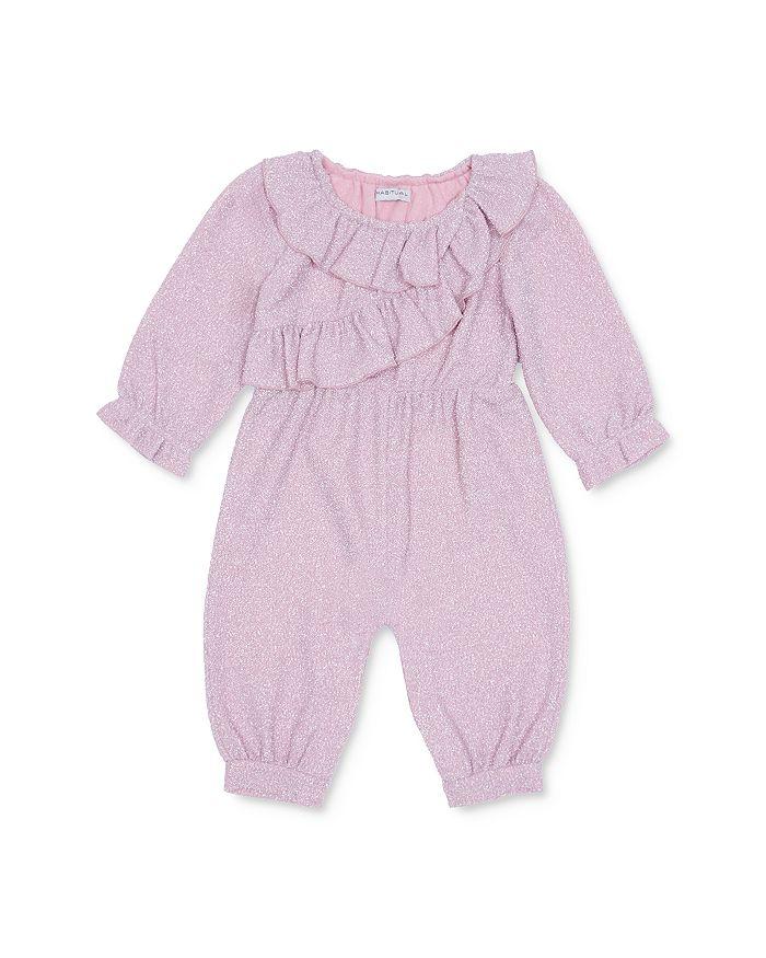 Habitual Kids - Girls' Ellie Ruffled Sparkle Jumpsuit - Baby