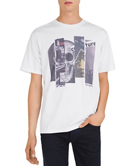 The Kooples - Collage Graphic Tee
