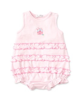 Kissy Kissy - Girls' Embroidered Castle Bodysuit - Baby