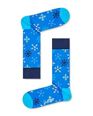 Happy Socks Socks SNOWFLAKE CREW SOCKS