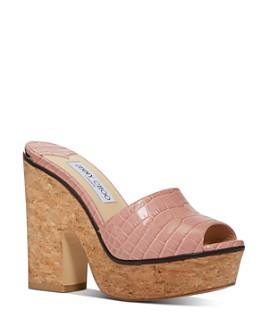 Jimmy Choo - Women's Deedee 125 Platform Sandals