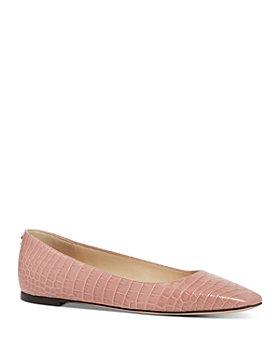 Jimmy Choo - Women's Mirele Leather Flats