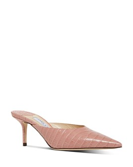 Jimmy Choo - Women's Rav 65 Kitten Heel Mules
