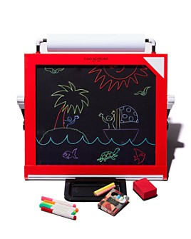 FAO Schwarz - 3-in-1 Tabletop LED Art Easel - Ages 6+