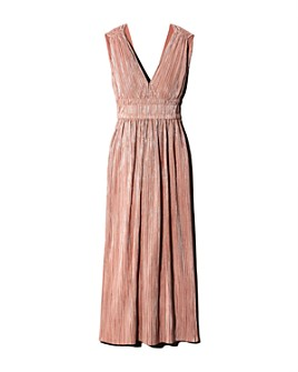 Maje - Rimalda Pleated Maxi Dress - 100% Exclusive
