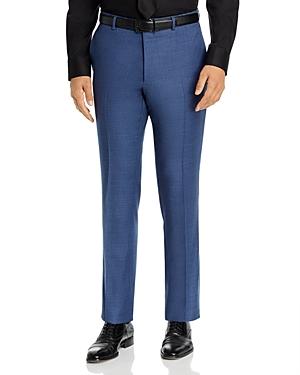 John Varvatos Star Usa Street Melange Solid Slim Fit Suit Pants