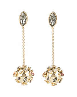 Alexis Bittar - Sputnik Chain & Sphere Drop Earrings