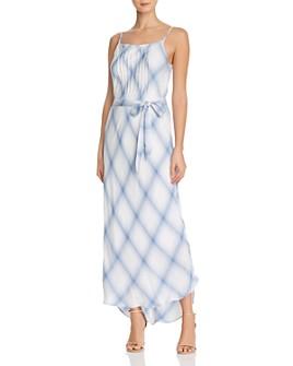 Splendid - Coastal Plaid Maxi Dress