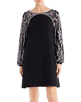 Aidan Mattox - Embellished Mini Shift Dress - 100% Exclusive