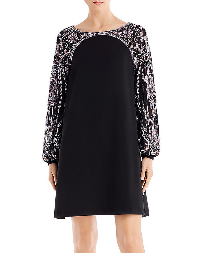 Aidan Mattox - Embellished Mini Shift Dress - 100% Exclusive