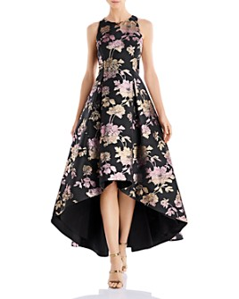 Aidan by Aidan Mattox - Jacquard High-Low Dress