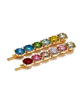 AQUA - Ombré Rhinestone-Encrusted Bobby Pins, Set of 2 - 100% Exclusive