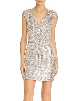 LIKELY - Brienne Sequined Mini Dress