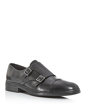 Bally Men's Neos Leather Double Monkstrap Oxfords