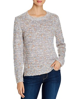 Alison Andrews - Sequin-Detail High/Low Sweater