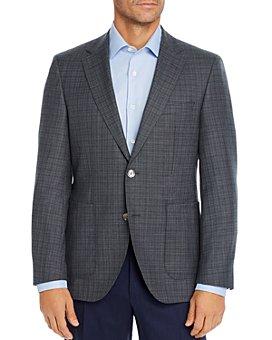 BOSS - Janson Tonal Plaid Regular Fit Sport Coat