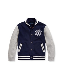 Ralph Lauren - Boys' Naval Baseball Jacket - Little Kid
