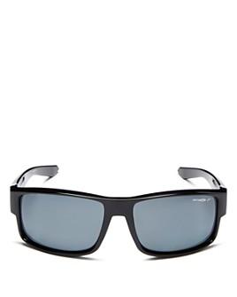 Arnette - x Post Malone Men's Boxcar Polarized Rectangle Sunglasses, 59mm