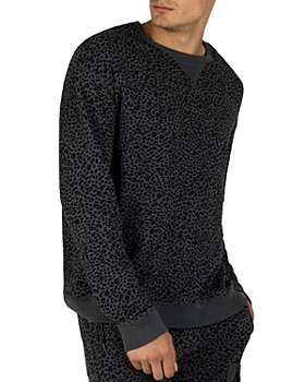 ATM Anthony Thomas Melillo - Terry Animal-Print Sweatshirt
