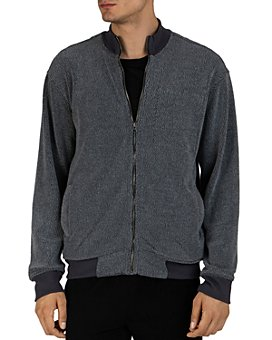 ATM Anthony Thomas Melillo - Terry Fleece Zip-Up Sweater