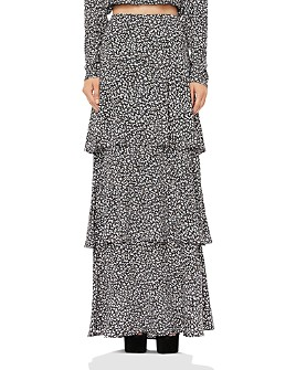 AFRM - Sabine Tiered Maxi Skirt