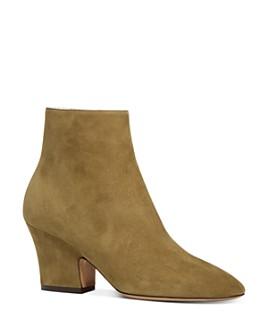 Salvatore Ferragamo - Women's Shirin Block Heel Ankle Booties