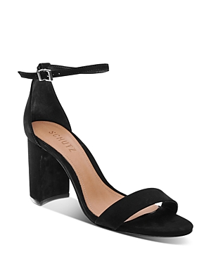 Schutz Women\'s Anna Lee Block Heel Sandals