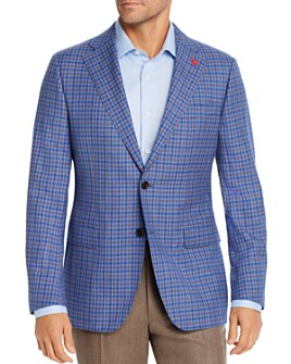 Cardinal Of Canada - Multi Check Regular Fit Sport Coat - 100% Exclusive