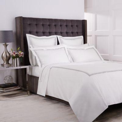 Double bedding full satin jacquard MAXI Trendy Ivory