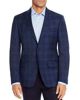Psycho Bunny - Tonal Broken Plaid Regular Fit Sport Coat