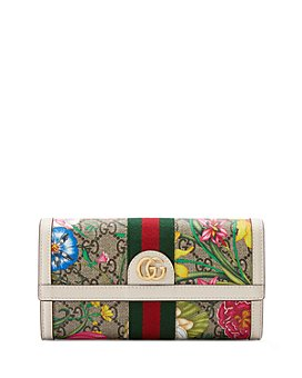 Gucci - Ophidia GG Flora Continental Wallet