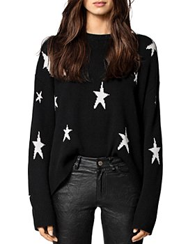 Zadig & Voltaire - Markus Star Printed Cashmere Sweater