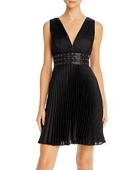 BCBGMAXAZRIA - Pleated Cocktail Dress