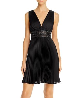 Bcbgmaxazria Pleated Cocktail Dress