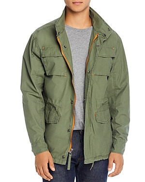 Pacific & Park Pop Color Slim Fit Utility Jacket - 100% Exclsuive