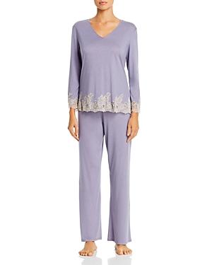 Natori Luxe Shangri-La Pajama Set-Women