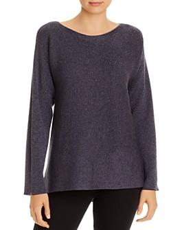 Eileen Fisher - Metallic Boatneck Sweater - 100% Exclusive