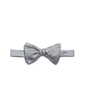 Eton - Textured Glitter Silk Bow Tie