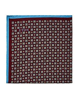 Eton - Mini Florette Neat Silk Pocket Square