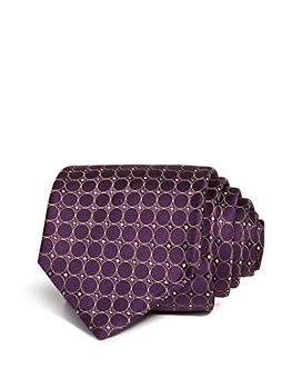 Eton - Circle Diamond Dot Neat Silk Classic Tie