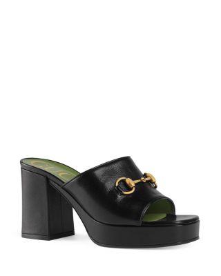 gucci women's slide sandals