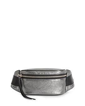 ALLSAINTS - Miki Metallic Leather Belt Bag