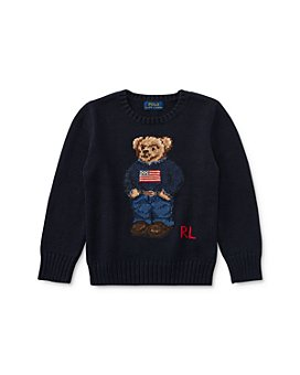 Ralph Lauren - Boys' Bear Sweater - Little Kid