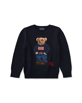 Ralph Lauren - Boys' Bear Sweater - Little Kid, Big Kid